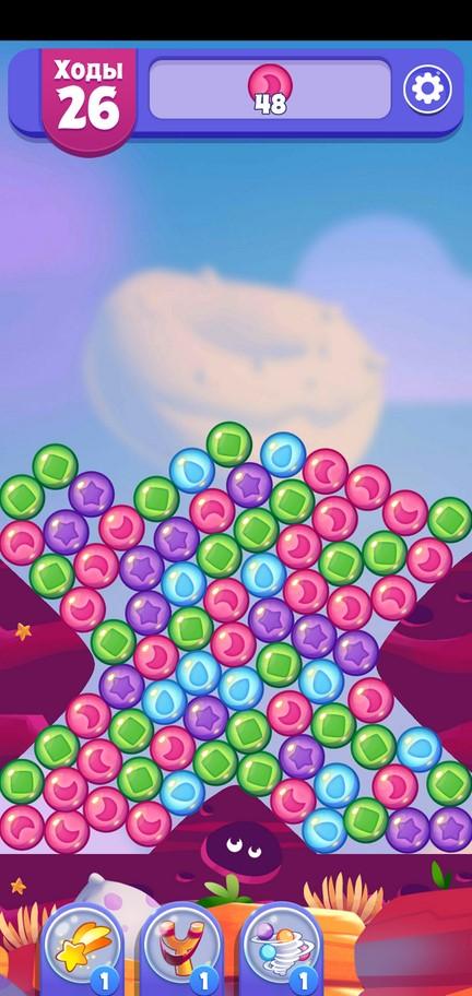 Игровой процесс Angry Birds Blast