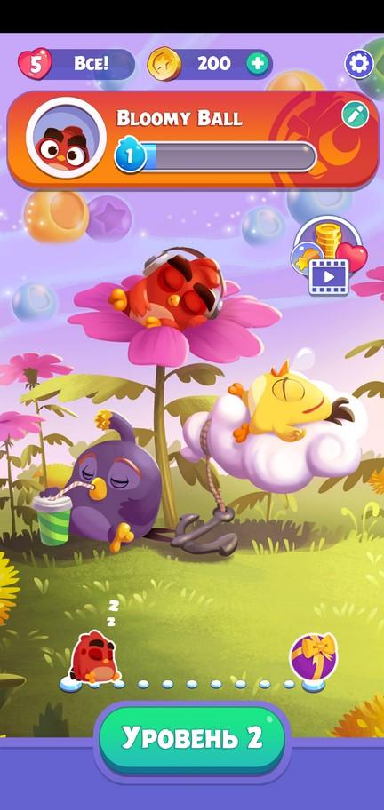 Игра Angry Birds Blast
