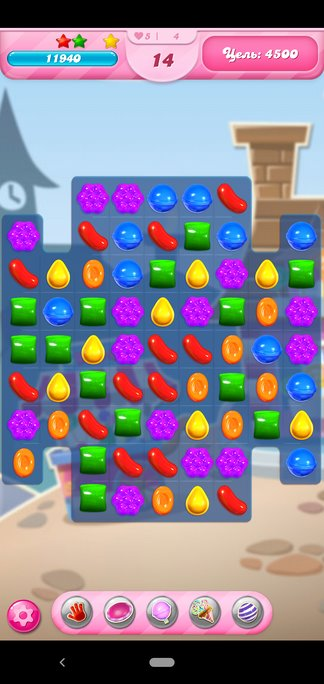 Геймплей Candy Crush Saga