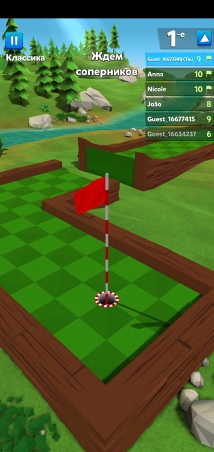 Ждем соперников в Golf Battle