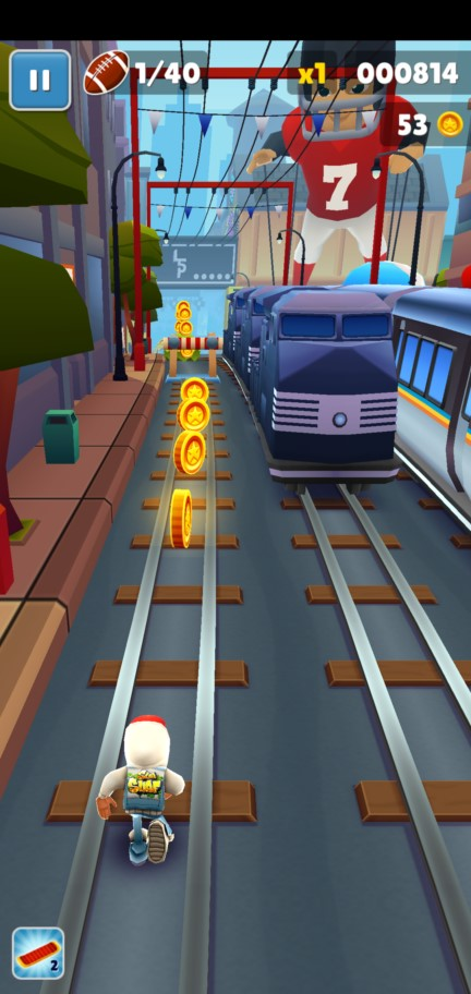 Геймлпей Subway Surfers