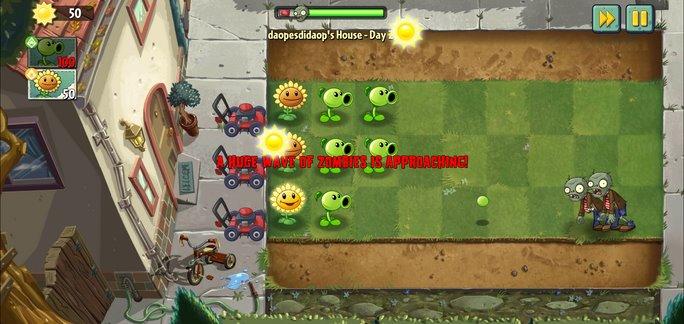 Скачать Plants vs Zombies 2