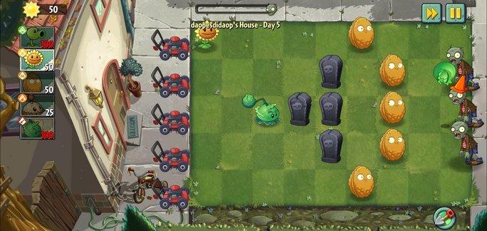 Plants vs Zombies 2 взлом