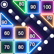 Bricks Breaker — Glow Balls