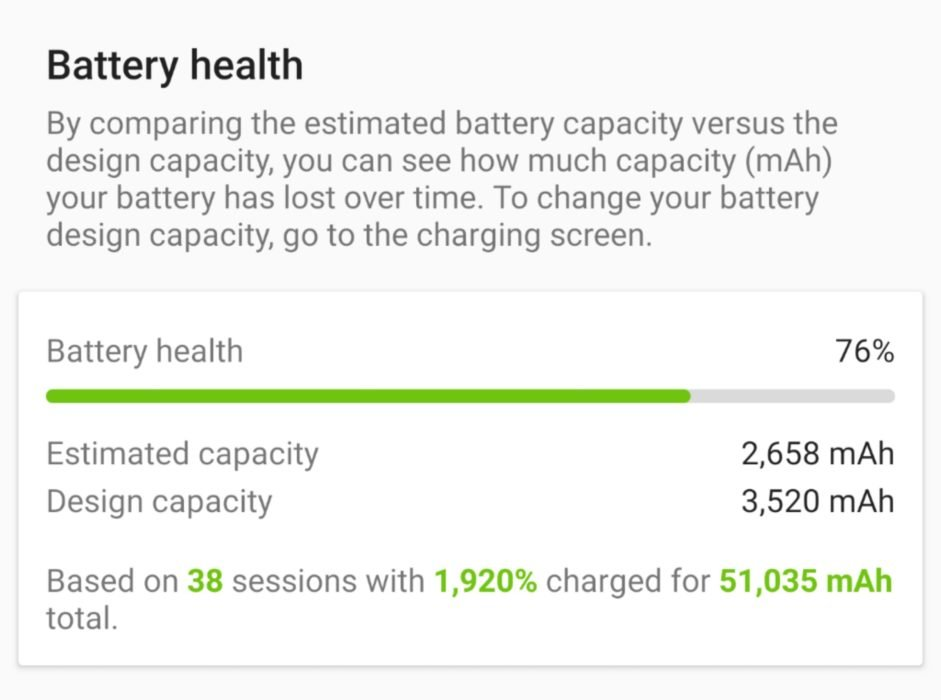 battery health - how to check battery health in android